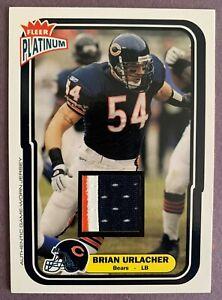 2004 Fleer Platinum Jerseys #6 Brian Urlacher *PATCH 63/80* Bears HOF WOW *NICE*