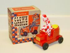 Vintage 1952 Mattel Action Toy Clown Mobile w/Box No. 463, Works