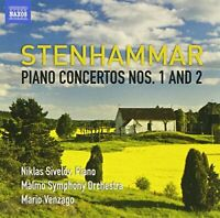 Niklas Sivelöv - Stenhammar Piano Concertos 1 and 2 (Naxos: 8572259) [CD]