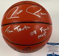 """Paul Pierce """"The Truth"""" & """"08 Finals MVP"""" signed NBA Basketball ~Beckett BAS COA"""