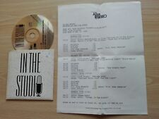 TODD RUNDGREN – ''IN THE STUDIO – SOMETHING/ANYTHING''- PROMO CD RADIO SHOW.