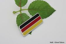 D300 Deutsch Flagge Auto 3D Emblem German flag Badge Aufkleber KFZ Car Sticker