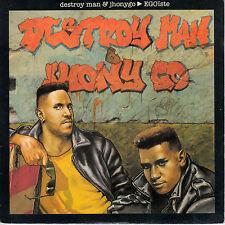 "7"" 45 TOURS FRANCE DESTROY MAN & JHONYGO ""Egoïste / On L'Balance"" 1987 RAP"