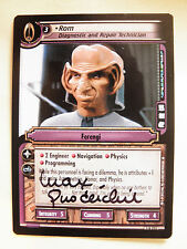 Autographed  2E Rom, Diagnostic and Repair Technician  (Max Grodenchik)