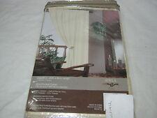 New Estex Adela Silk Like Drapery Window Panel 54x84 - Beige Nip