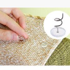 Non-Slip Bed Sheet Quilt Cover Comforter Duvet Bag Screw Pin Fasteners LD