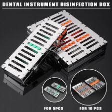 Dental Instrument Sterilization Autoclave Cassette Tray Box Rack Rubber Linker