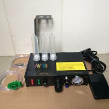 220V Semi-auto UV Glue Dispenser Solder Paste Liquid Controller Dropper Dispense
