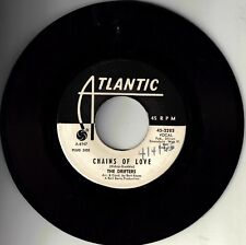 """DRIFTERS!! - """"CHAINS OF LOVE"""" B/W """"COME ON OVER TO MY PLACE"""" ATL PROMO VG+!"""