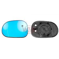 Mercedes Clase M 98 - > 01 Puerta Espejo De Cristal Asférica Azul, Calienta & Base, lado izquierdo