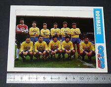 ROUMANIE ROMANIA TEAM FICHE ONZE MONDIAL COUPE MONDE FOOTBALL ITALIA 90 1990