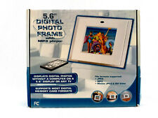"Atico 5.6"" Digital LCD Photo Frame with mp3 Player and Remote"