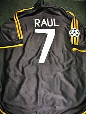 Raul Real Madrid Jersey 1999 2000 UEFA FINAL Shirt Camiseta Spain Espana Maglia