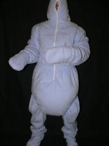 A4*Adult Baby 3-layer Spreading Romper*3-lagiger Spreizbody softes Fleece