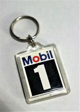 Antique Keychain key-chain in hard plastic advertising Mobil