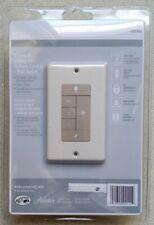 Universal Wall Mount Ceiling Fan Switch Controls fan speed and light