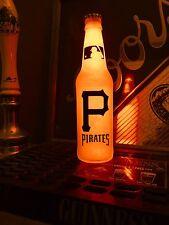 Mlb Pittsburgh Pirates Baseball 12 oz Beer Bottle Light Led Neon Bar Mens