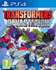 Transformers Devastation PS4 Playstation 4 IT IMPORT ACTIVISION BLIZZARD