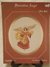 """Serendipity Designs Cross Stitch Leaflet Mar Bek Collection """"Coventry Angel"""""""
