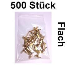 Flachkopfklammern Musterbeutelklammern Verschlußklammern Warensendung - 500 Stüc