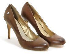 418 Bombas Zapatos de Mujer Elegante Tacones Altos Braun Fiesta Mujeres 41