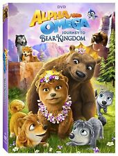 Alpha and Omega: Journey to Bear Kingdom (DVD, 2017)