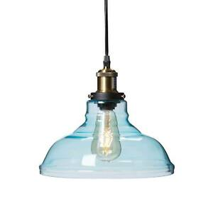 SEI Gracelyn Colored Glass Bell Pendant Lamp