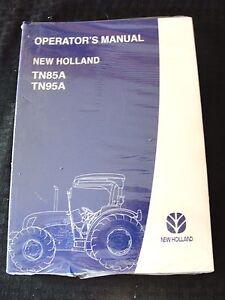 Originale New Holland TN85A TN95A Trattore Manuale Menta Sigillato Molto Carino