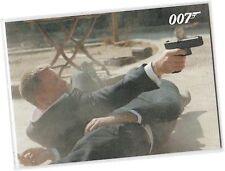 James Bond Autographs & Relics Promo Card P1