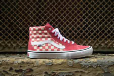 Vans SK8 Hi Pro Checkerboard Desert Rose Men's Classic Skate Shoes Size 10