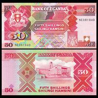 Uganda 50 Shillings, 1998, P-30c, UNC