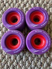 Orangatang The Keanu Longboard Wheels 66mm 86a Purple New