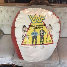 WWF WWE WRESTLING BEAN BAG CHAIR BALL RETRO VINTAGE HOGAN WARRIOR JAKE BOSS MAN