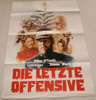klein,Filmplakat,Plakat,DER LETZTE OFFENSIVE ,PETER O TOOLE-1