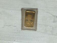 Credit Suisse - 5 Gram 999.9 Fine Gold Bar - Sealed in Pack