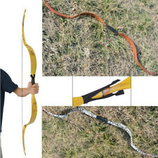 20lbs Archery Traditional Recurve Bow Handmade Takedown HorseBow Shooting RH LH
