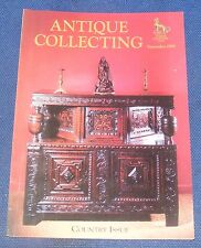ANTIQUE COLLECTING SEPTEMBER 1998 - COUNTRY ISSUE - BRITISH DOMESTIC COPPER