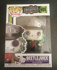 Funko POP movies vinyl figure Horror Beetlejuice Guide Hat #605