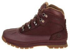 Timberland Euro Hiker Shell Waterproof Boot # TB0A1Q3S Burgundy Big Kid SZ 4 - 7