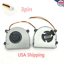 New CPU Cooling Fan for Laptop MSI X600 S6000 AB6605HX-J03 3Pin
