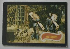 Planet of the Apes - Original 1968 trading card Uk release- Card 12 'No Escape'  00006000