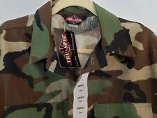 Tru Spec Atlanco Small Long SL Camouflage Long Sleeve Shirt Coat NWT