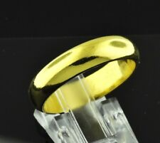 15.00 grams 24k Pure 9999 Solid Yellow Gold Handmade band ring Any size 5-12