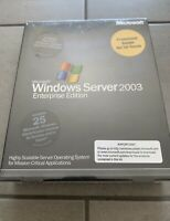 Microsoft®Windows Server 2003 Enterprise Edition • NEW • Sealed