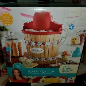 Pioneer Woman Sweet Rose Ice Cream Maker