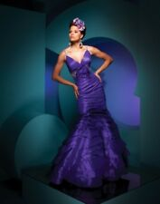 **SUPER SALE!!** Tony Bowls Prom Dress 111706 Purple Size 10 NWT