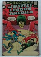 THE CREEPER VS. THE JUSTICE LEAGUE OF AMERICA DC COMIC BOOK