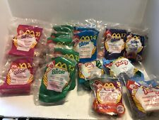 MCDONALDS HAPPY MEAL TOYS FURBY'S, HOT WHEEL, BARBIE  LOT OF 22 (lot #3)