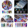 Holographics Flower Nail Foil Nail Art Decor Panda Transfer Stickers Decals Tips