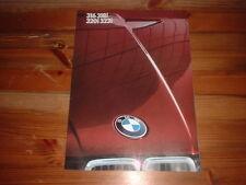 BMW E30 SALES BROCHURE 1982, 316,318I 320I ,323I   INC BAUR